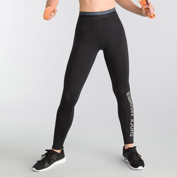 Legging Active Wear nero Shock Absorber, , DIM