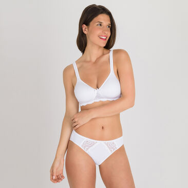 Slip Mini bianco - Flowery Lace, , PLAYTEX