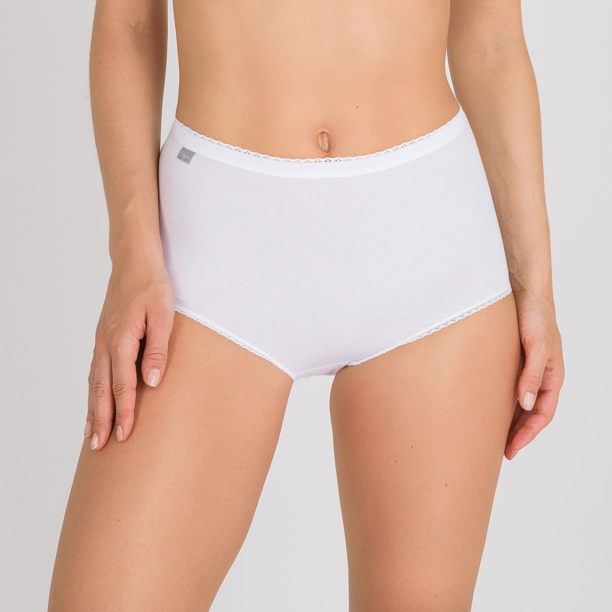 Pacco da 3 Slip Maxi basico bianchi - Cotone - PLAYTEX