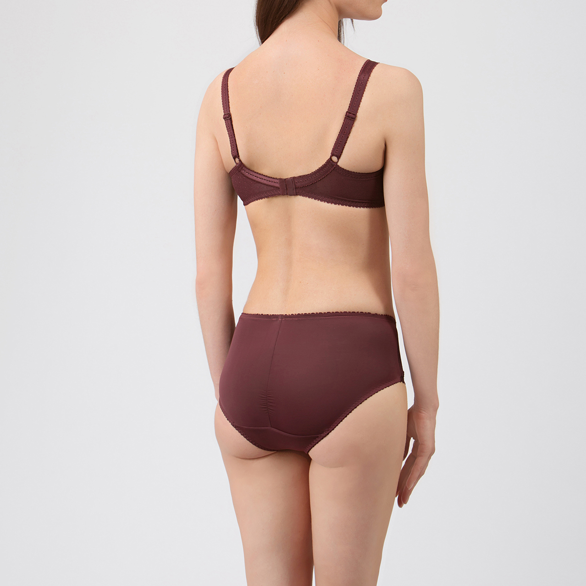 Slip Midi marrone – Criss Cross Pizzo - PLAYTEX
