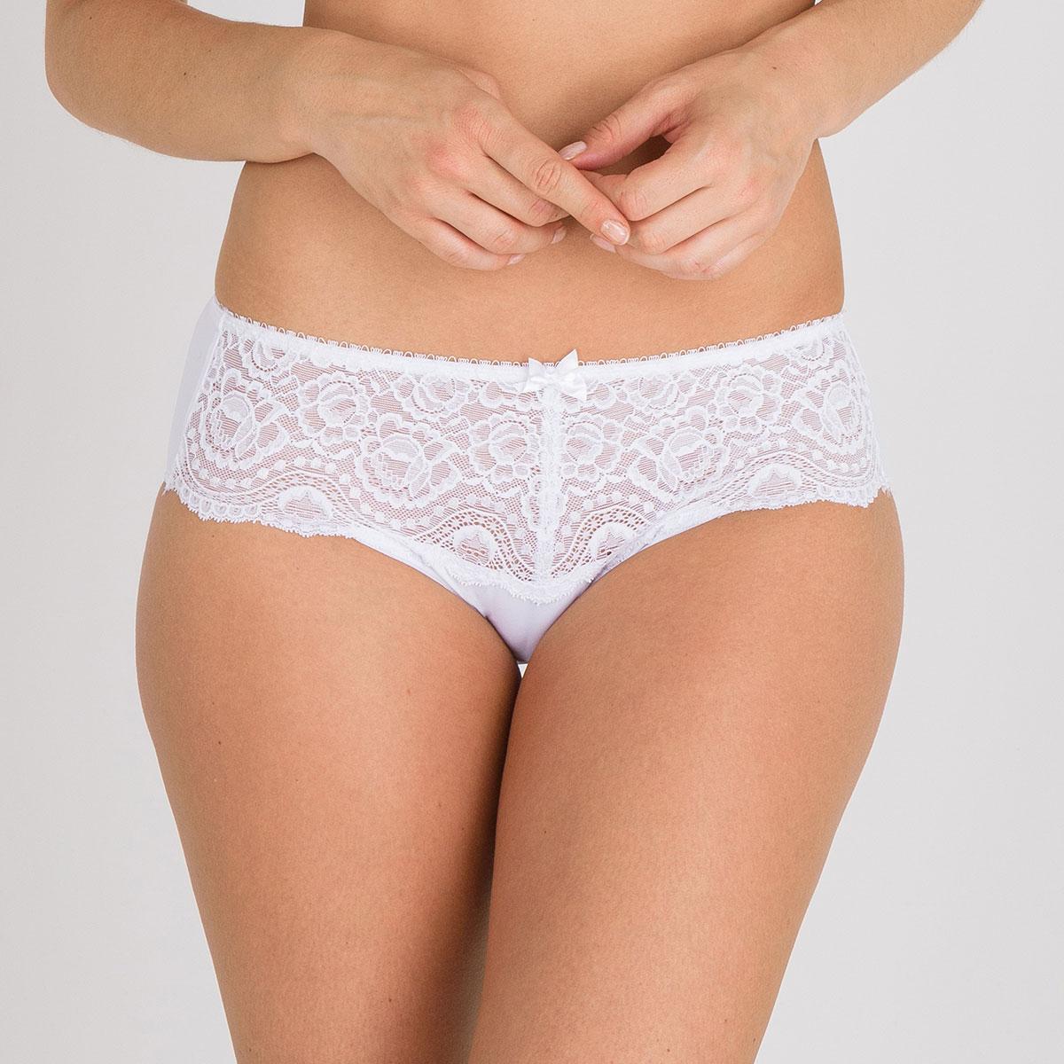 Slip Midi bianco - Flowery Lace, , PLAYTEX