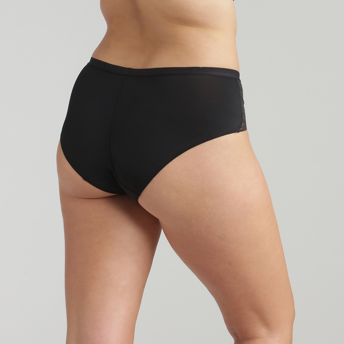 Slip midi nero Secret Comfort, , PLAYTEX