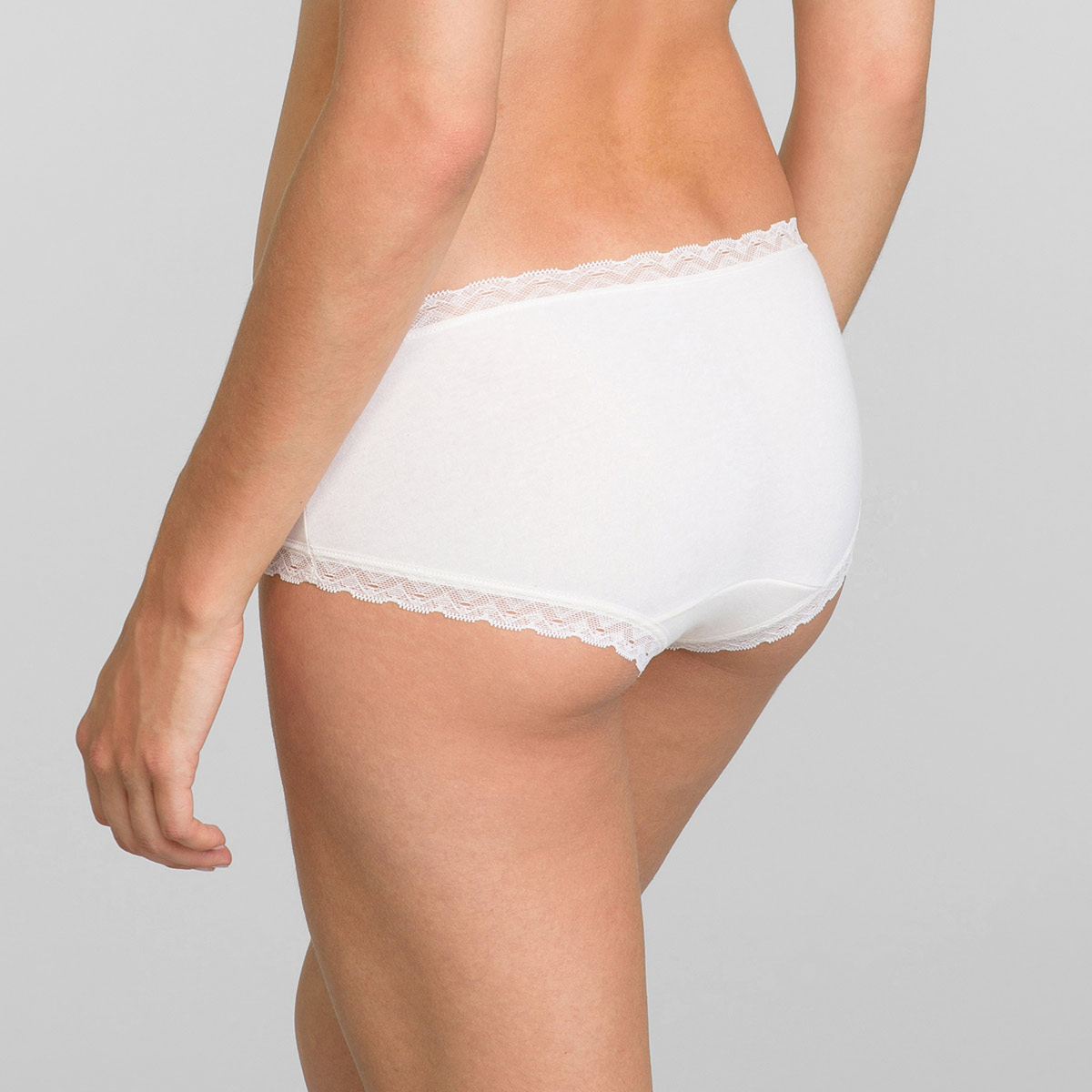 Pacco da 2 Panty beige e stampa ciliegie Cotton Fancy, , PLAYTEX