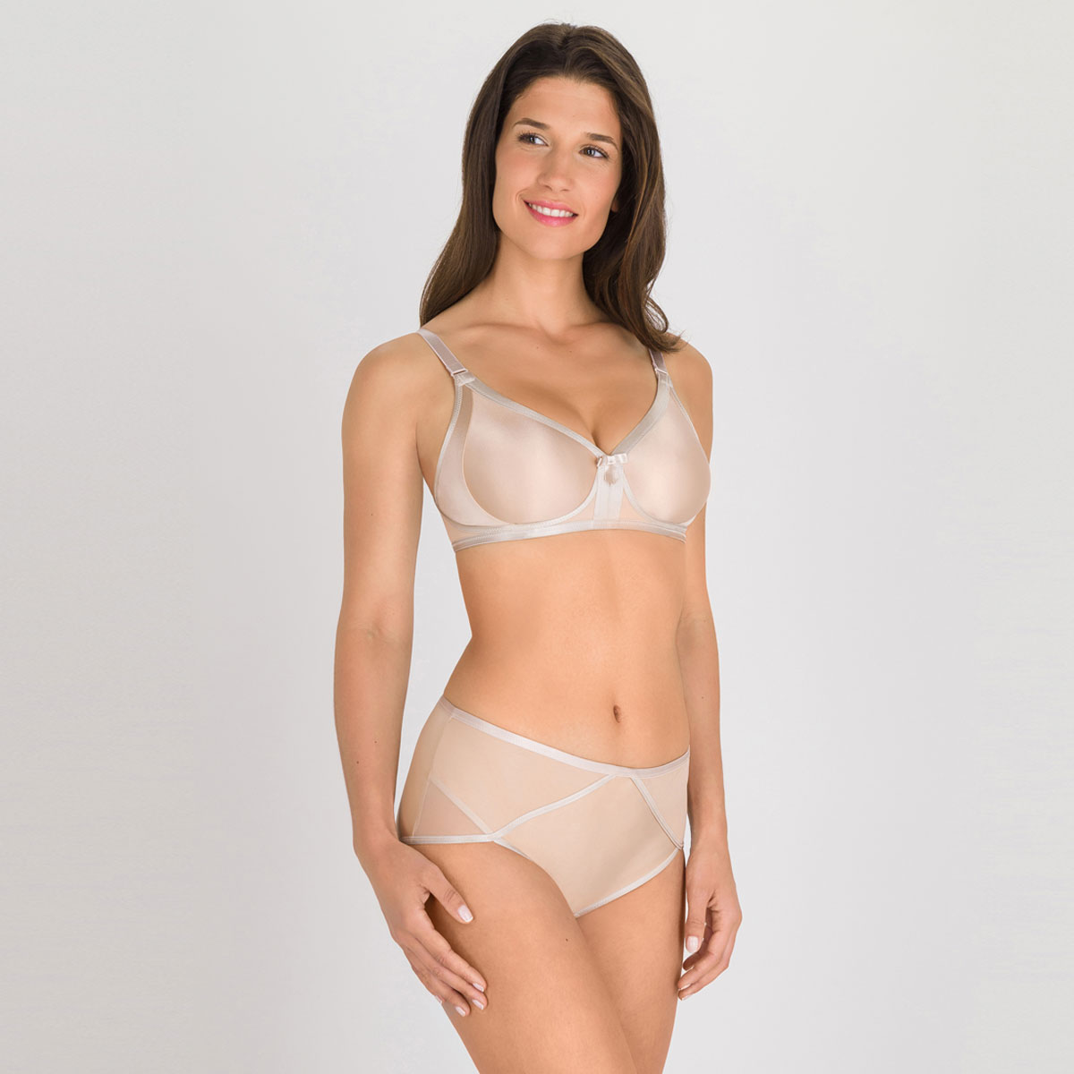 Soutien-gorge sans armatures beige - Ideal Beauty-PLAYTEX