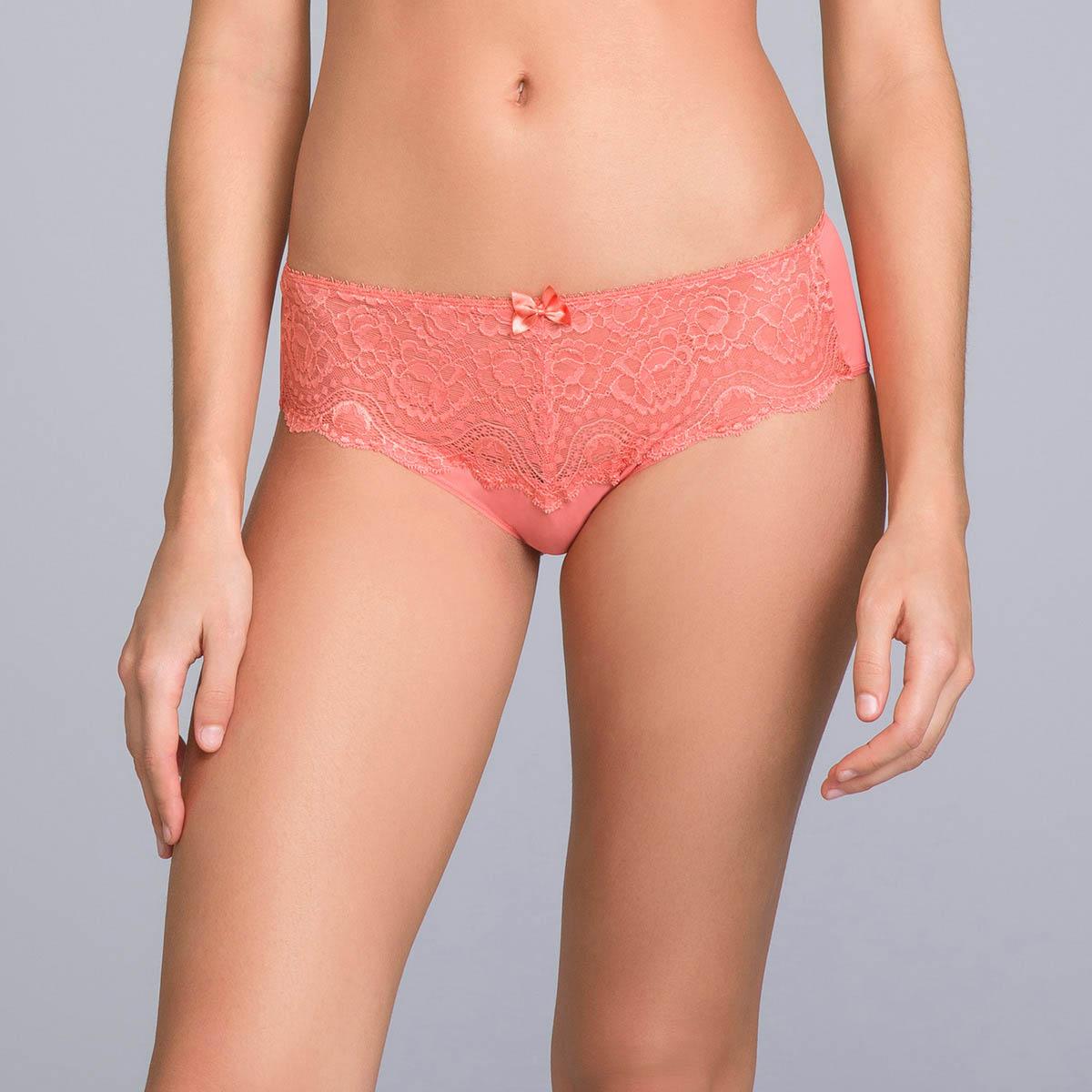 Slip Midi in pizzo arancione cannella - Flowery Lace, , PLAYTEX