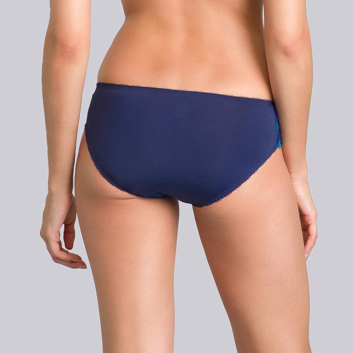 Slip mini blu stampato verde - Daily Elegance - PLAYTEX