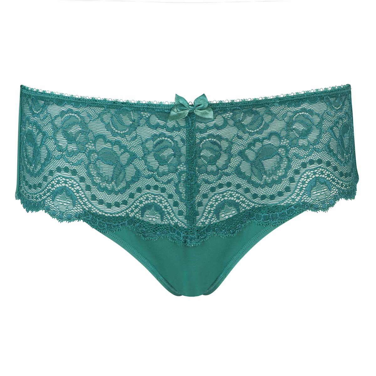 Slip midi in pizzo verde scuro Flowery Lace, , PLAYTEX