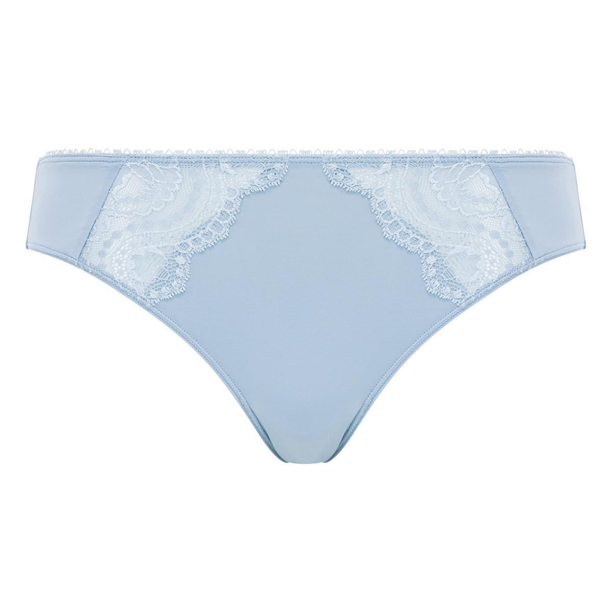 Slip Mini in pizzo grigio azzurrognolo - Flowery Lace - PLAYTEX