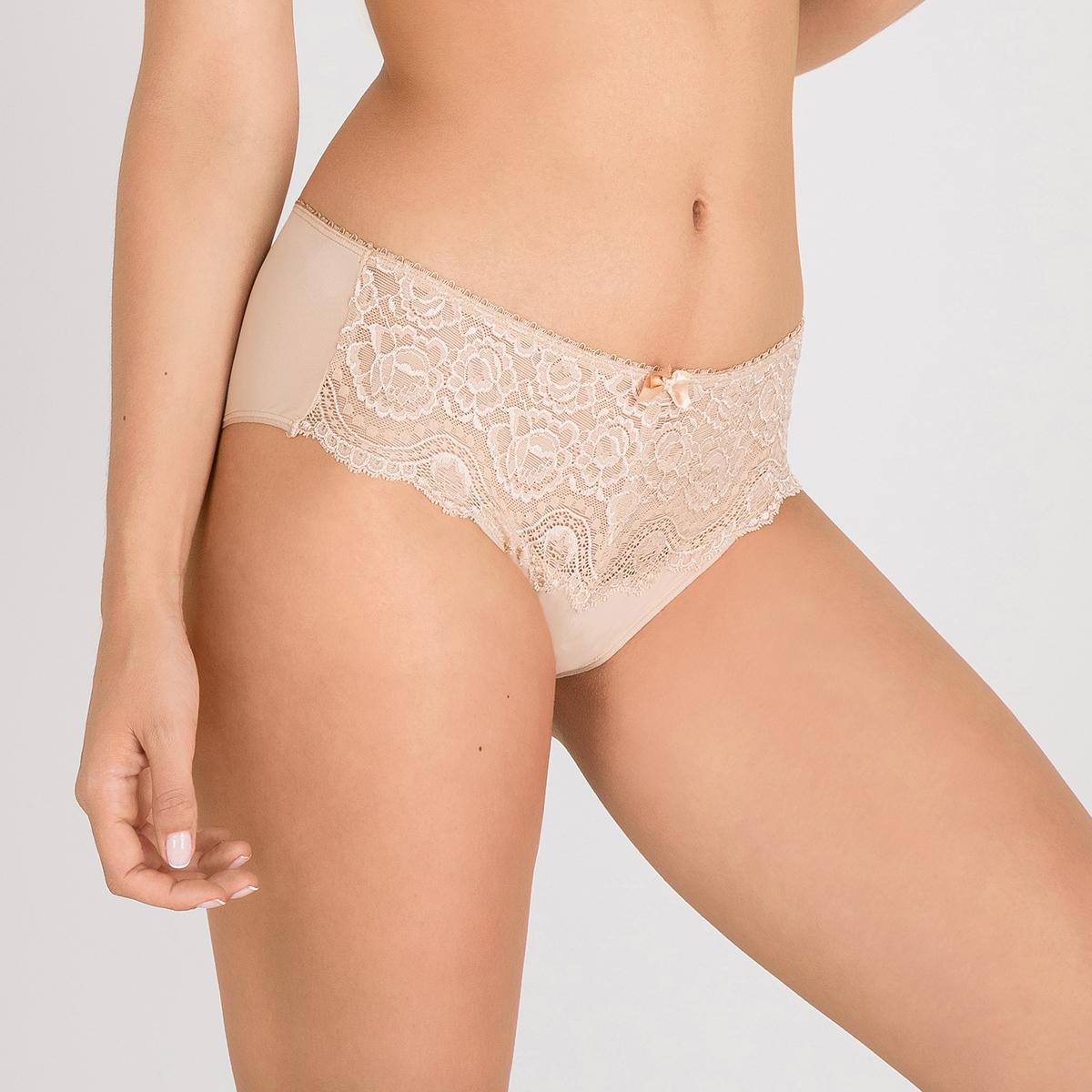Slip midi beige Flowery Lace, , PLAYTEX