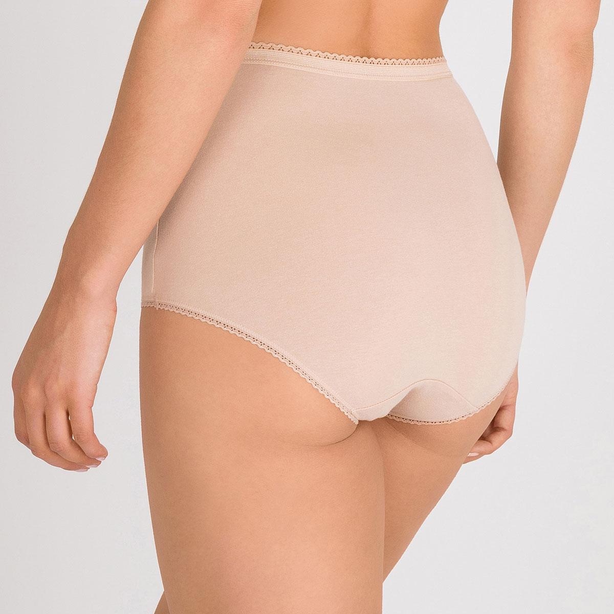 2 Culottes Maxi beige – Coton Stretch-PLAYTEX