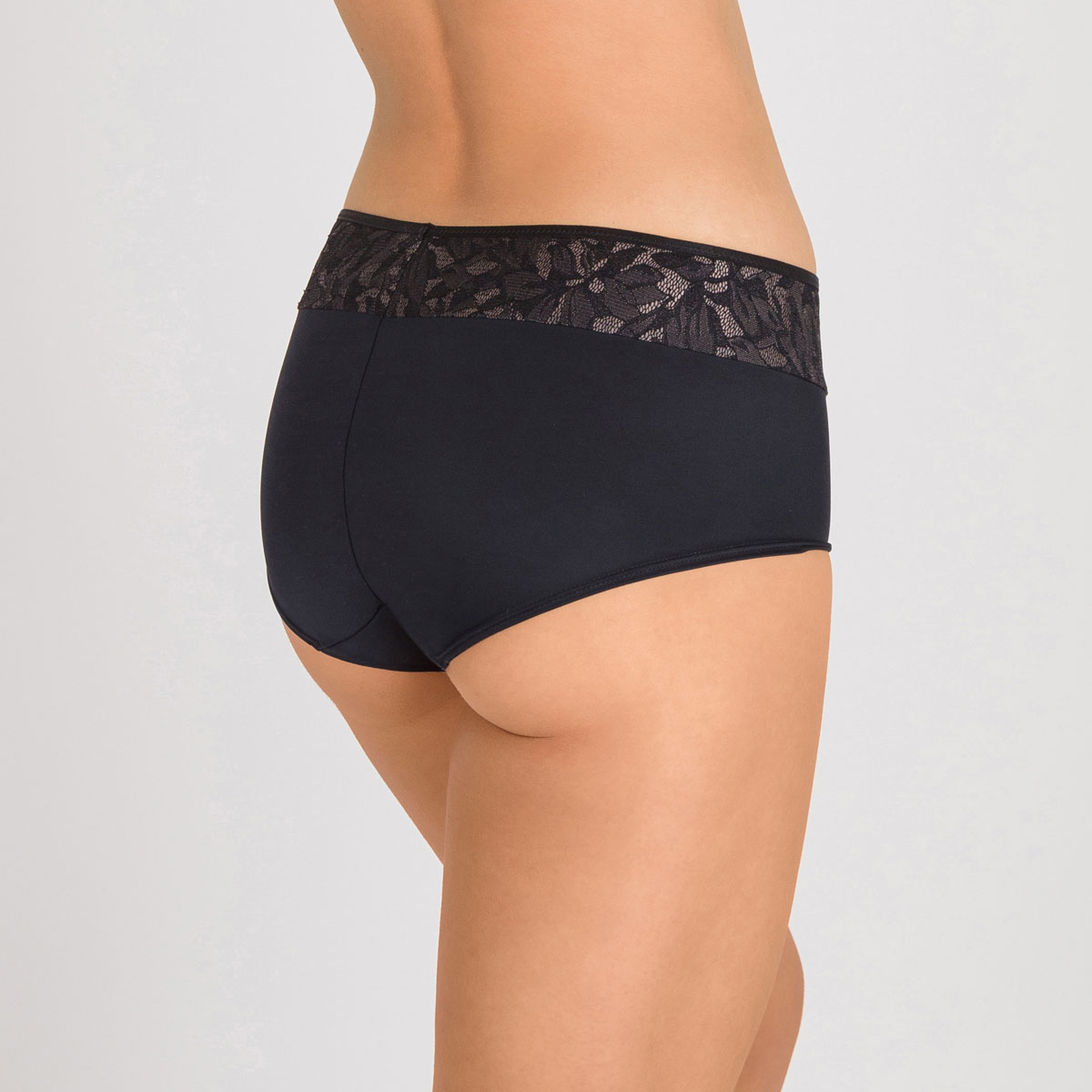 Shorty nero e grigio - Ideal Beauty Lace, , PLAYTEX