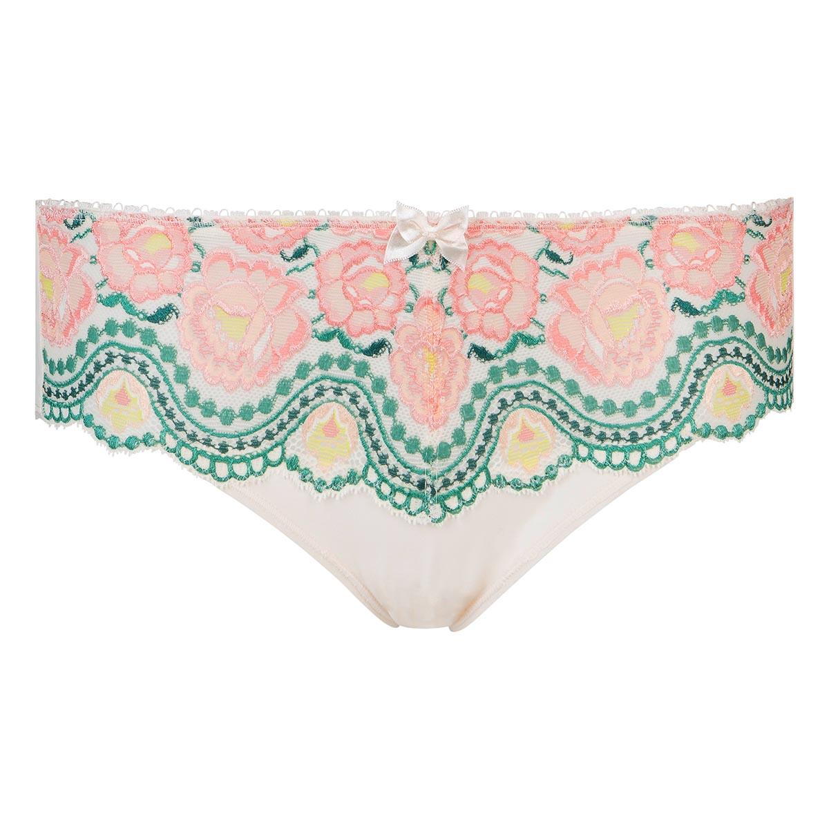 Slip midi stampato a fiori Flowery Lace, , PLAYTEX