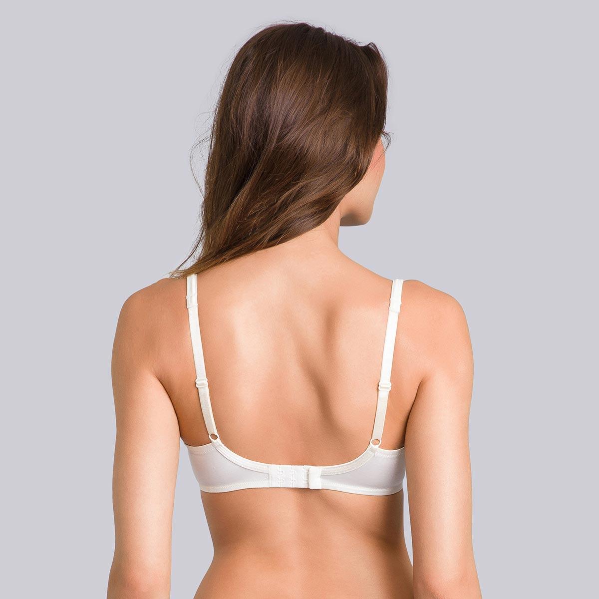 Reggiseno modellante bianco avorio - Satiny Micro Support-PLAYTEX