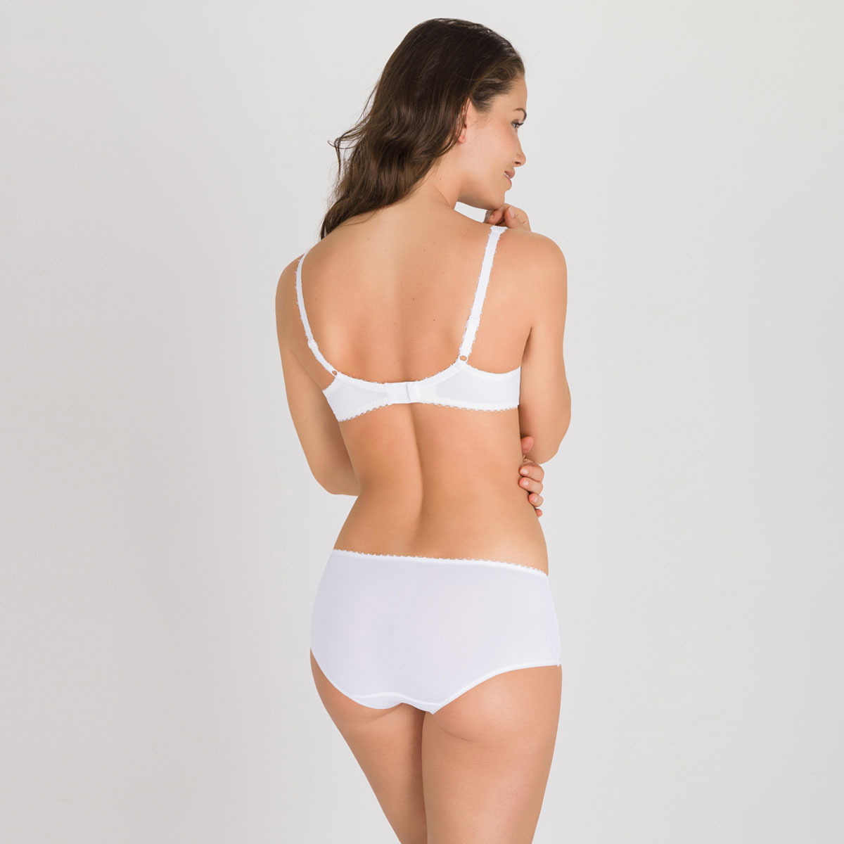 Shorty blanc - Flower Elegance-PLAYTEX