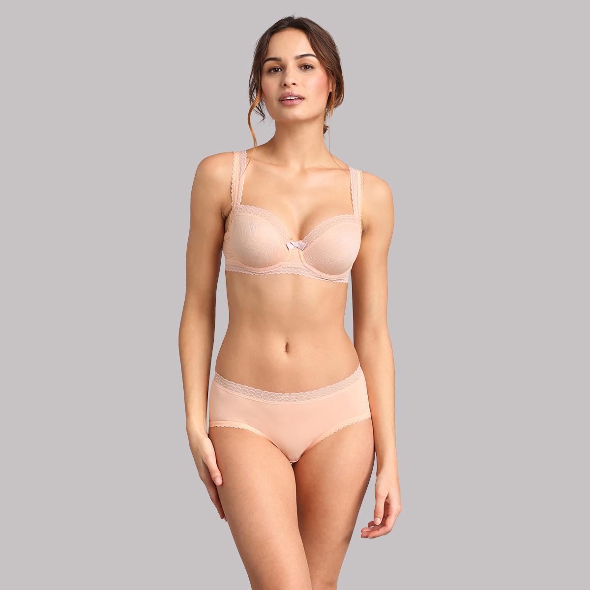 Reggiseno balconcino rosa pallido Invisible Elegance, , PLAYTEX