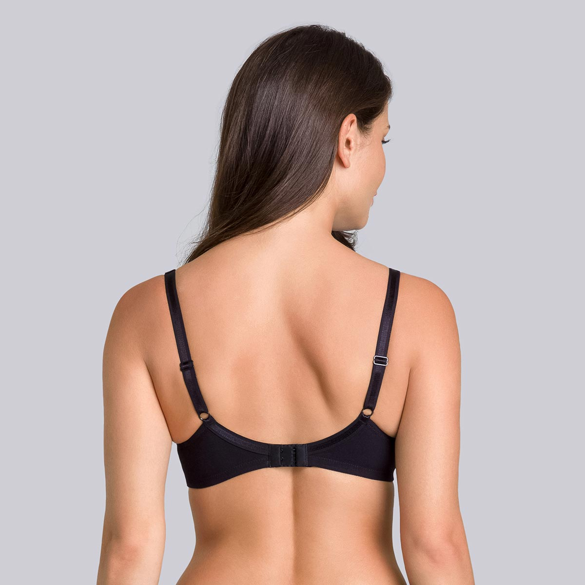 Reggiseno senza ferretto nero - Cotton Support - PLAYTEX