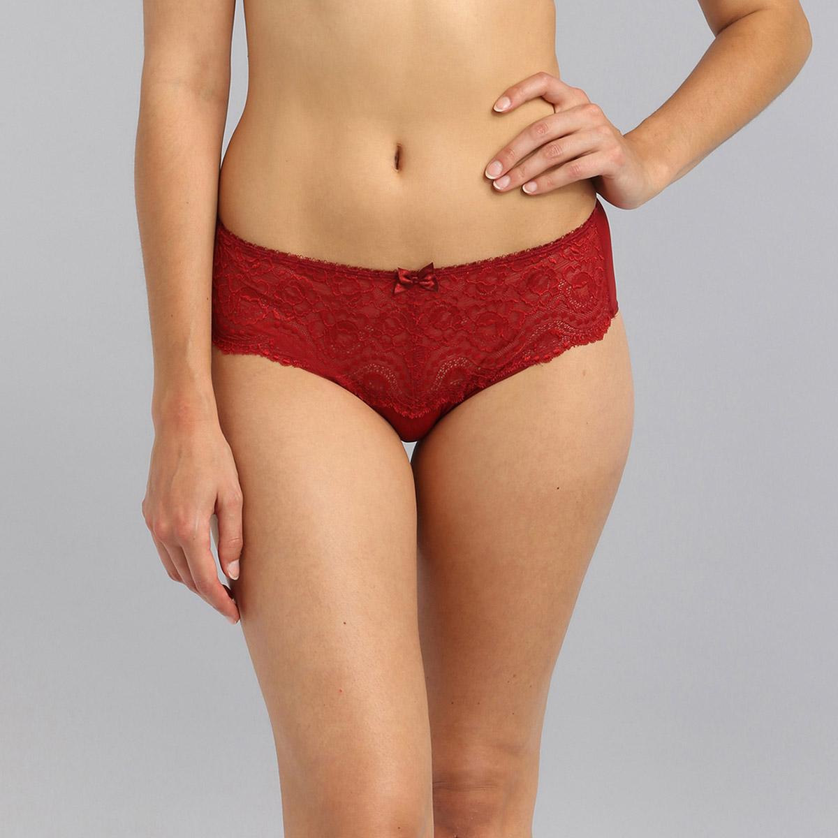 Slip midi rosso carminio Flowery Lace, , PLAYTEX