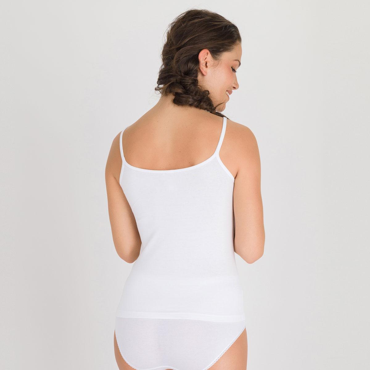 Caraco blanc - Cotton Liberty-PLAYTEX