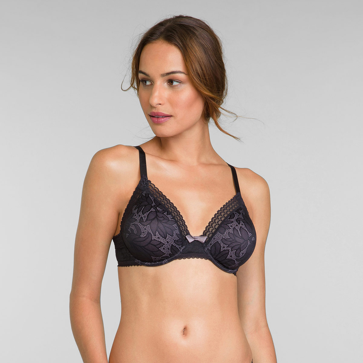 Reggiseno invisibile a triangolo nero - Invisible Elegance, , PLAYTEX