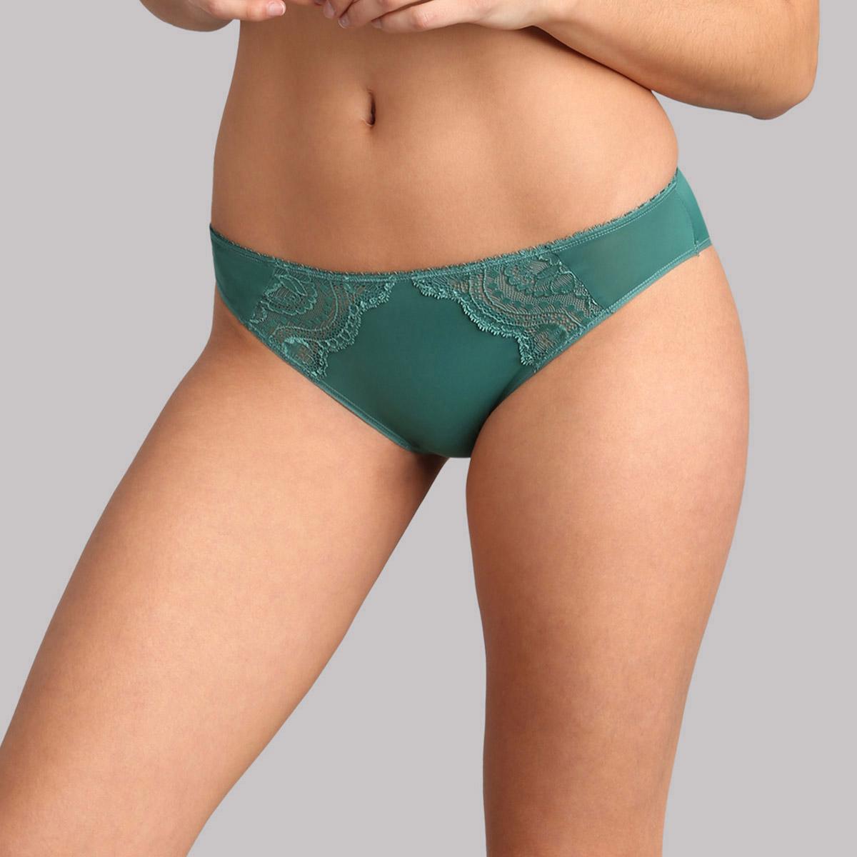 Slip mini verde scuro Flowery Lace, , PLAYTEX