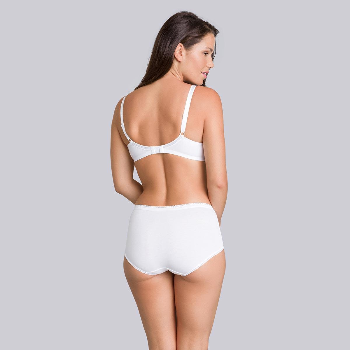 Reggiseno senza ferretto bianco - Cotton Support - PLAYTEX