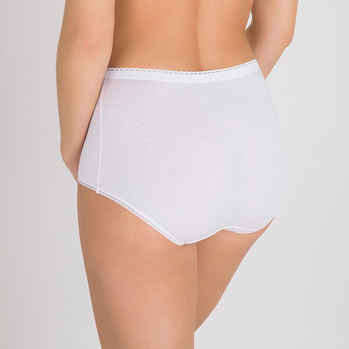 Pacco da 3 Slip Maxi nero, bianco e beige - Cotone, , PLAYTEX