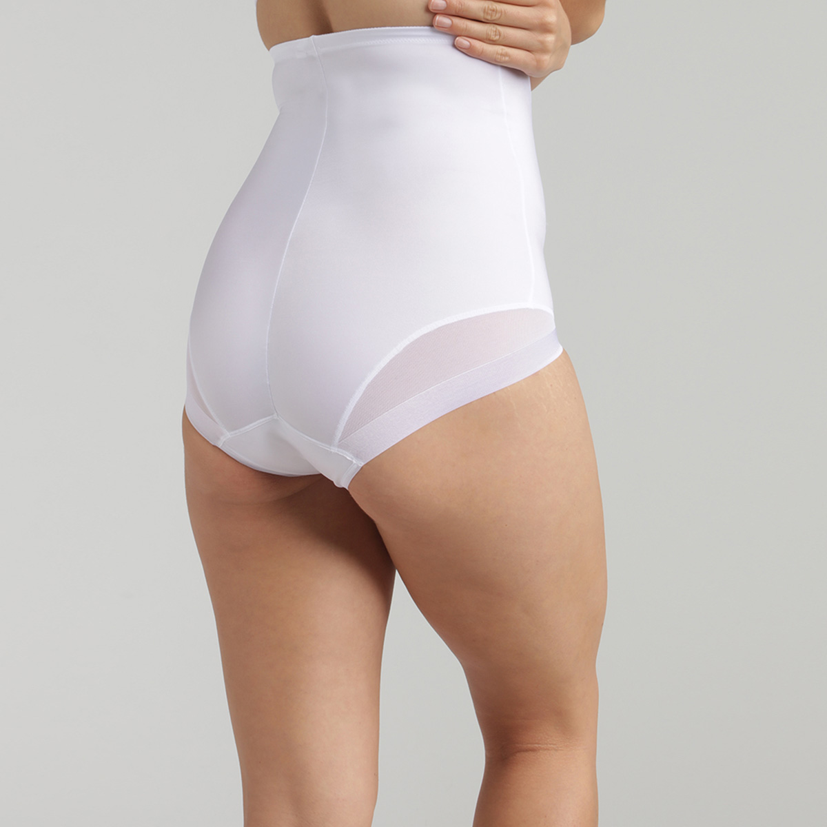 Guaina contenitiva vita alta bianca - Perfect Silhouette, , PLAYTEX