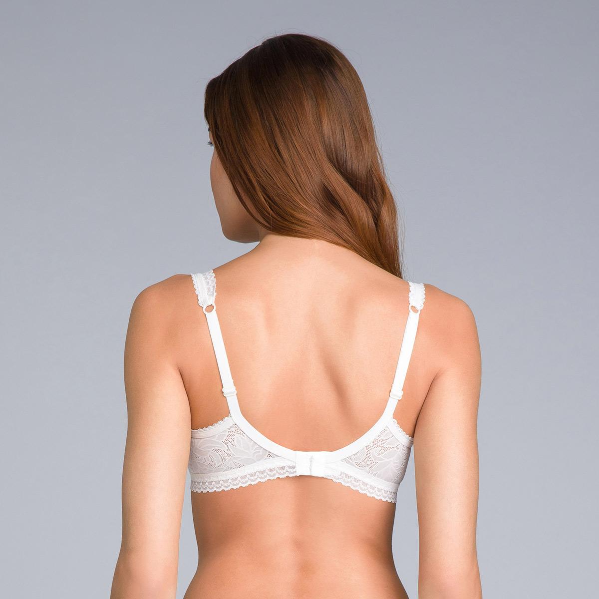 Reggiseno invisibile a balconcino bianco avorio - Invisible Elegance, , PLAYTEX
