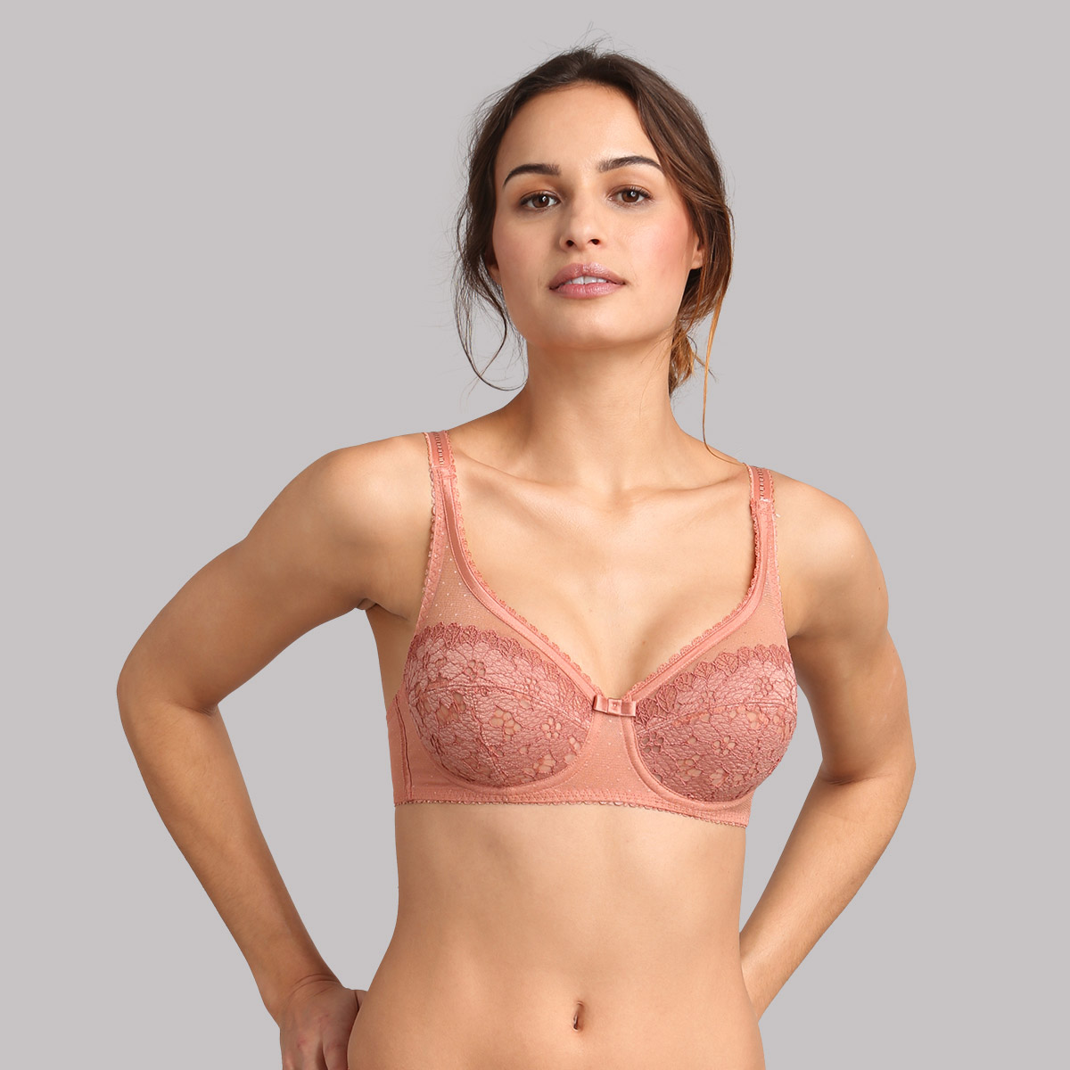 Reggiseno modellante terracotta Criss Cross Femminile, , PLAYTEX