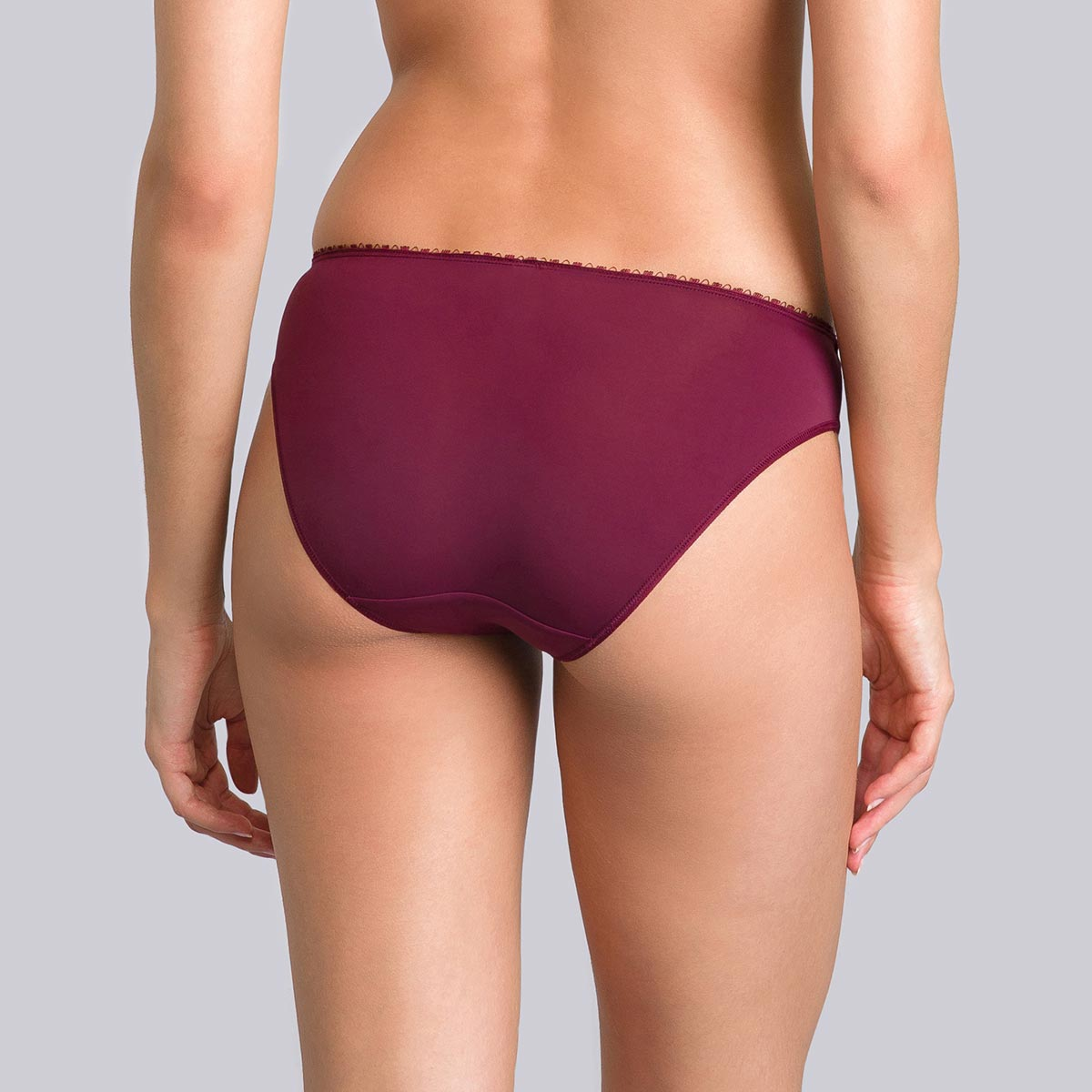 Slip Mini viola bordeaux - Flowery Lace - PLAYTEX