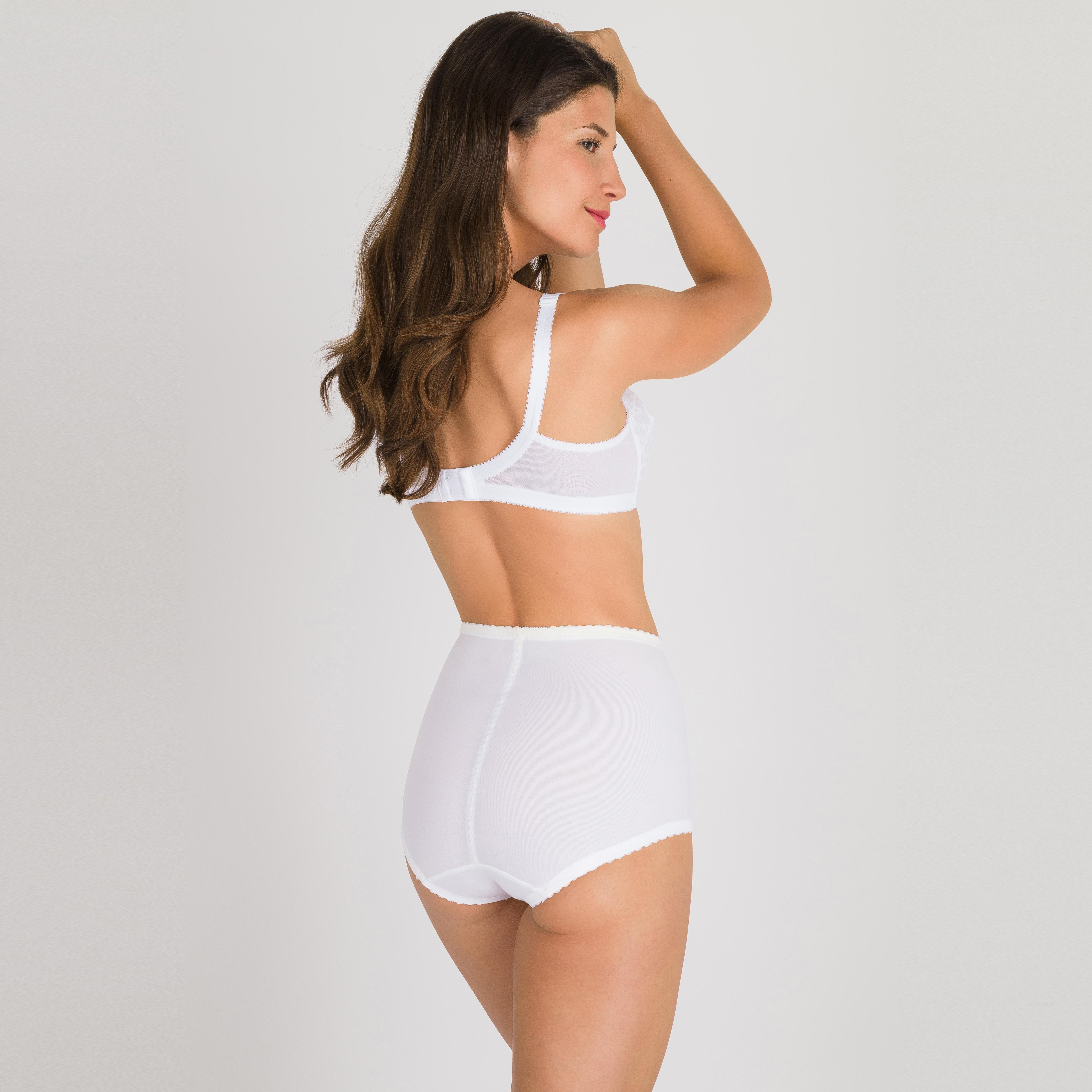 Guaina modellante bianca - Regina di Quadri, , PLAYTEX