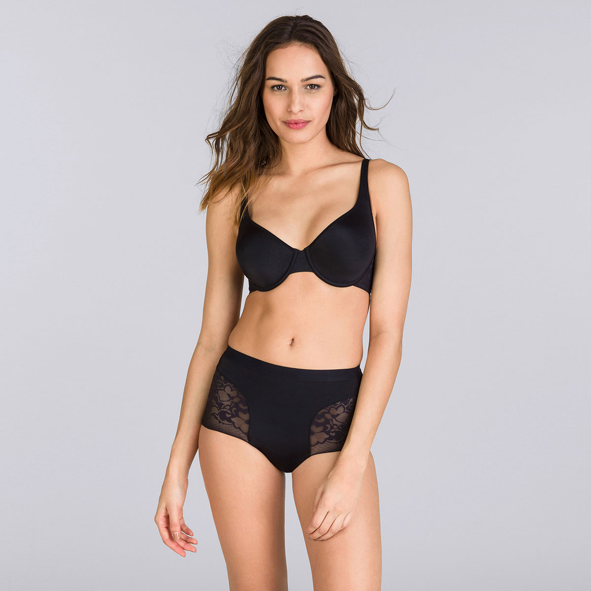 Culotte Maxi noire - Expert in Silhouette-PLAYTEX