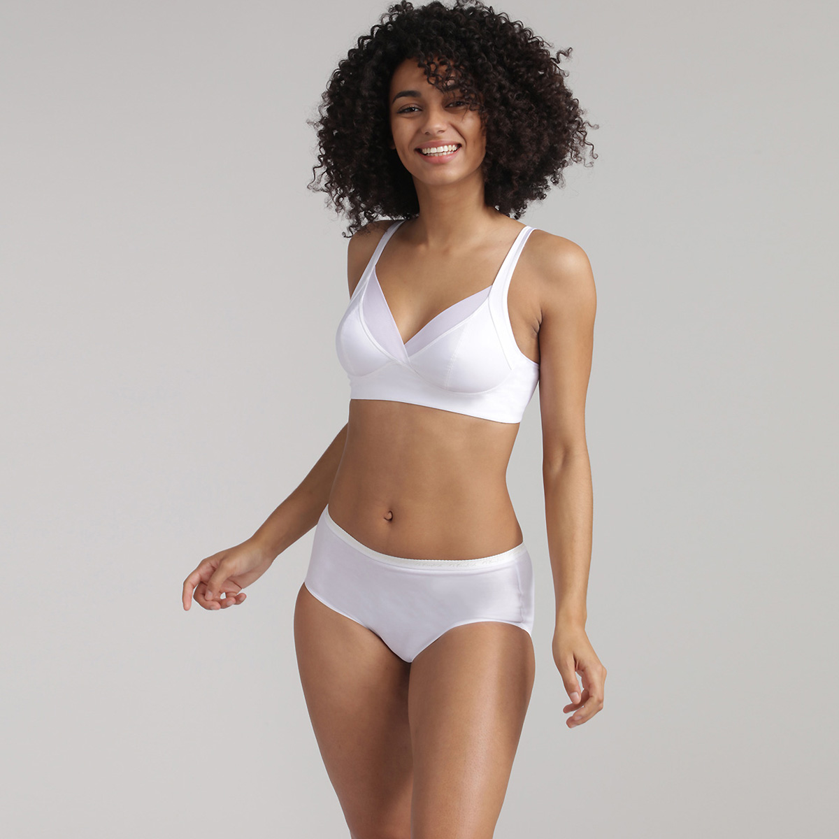 Reggiseno senza ferretto bianco - Feel Good Support, , PLAYTEX