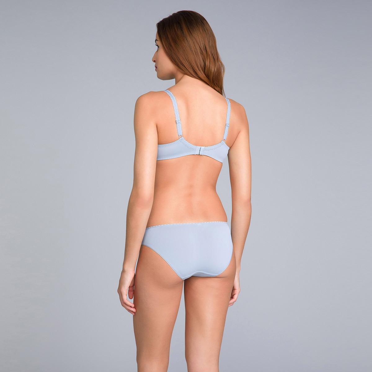 Slip Mini blu azzurrognolo stampato - Flowery Lace Micro, , PLAYTEX