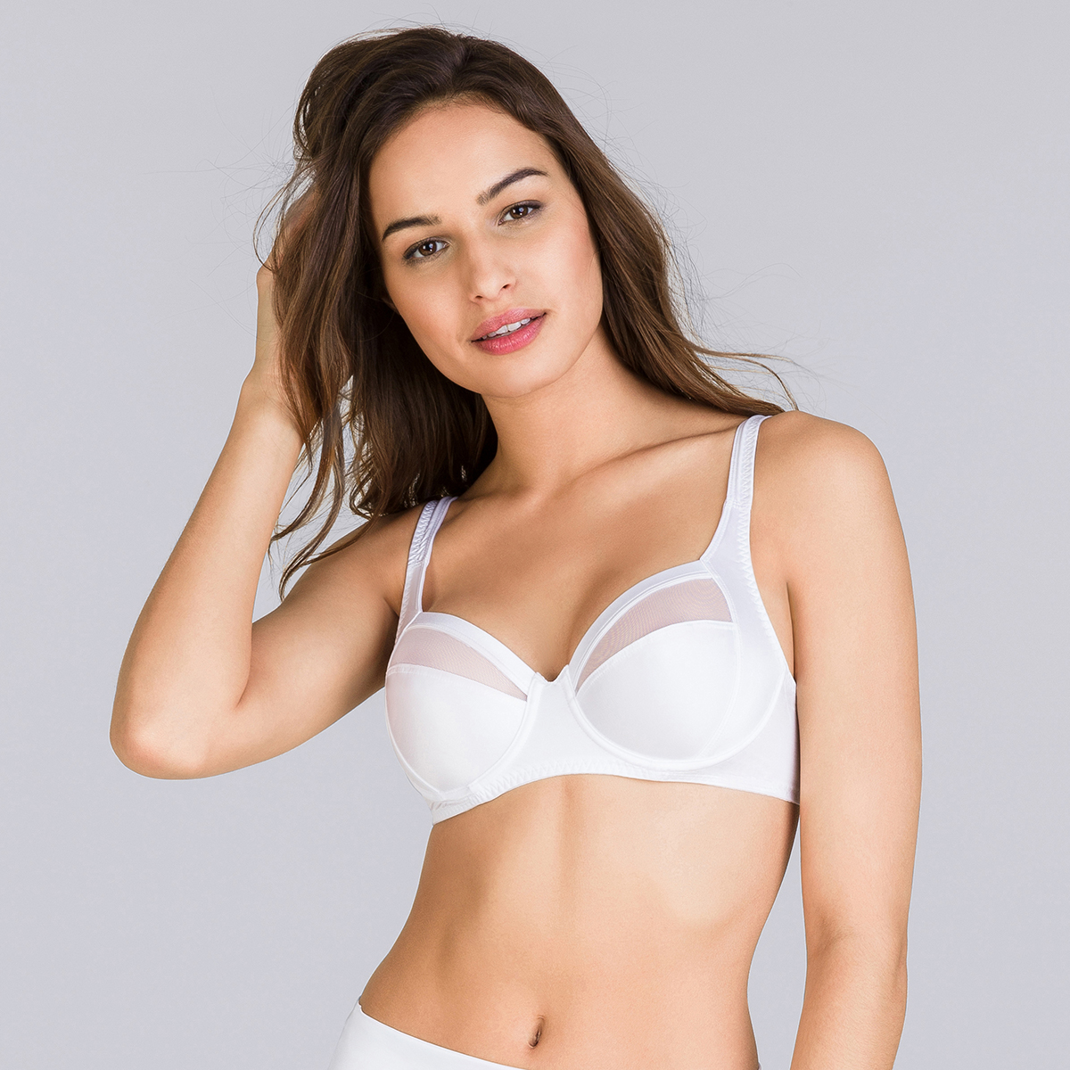 Reggiseno con ferretto bianco Perfect Silhouette, , PLAYTEX