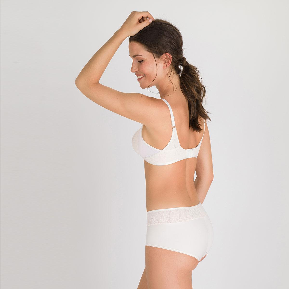 Reggiseno senza ferretto avorio - Ideal Beauty Lace, , PLAYTEX