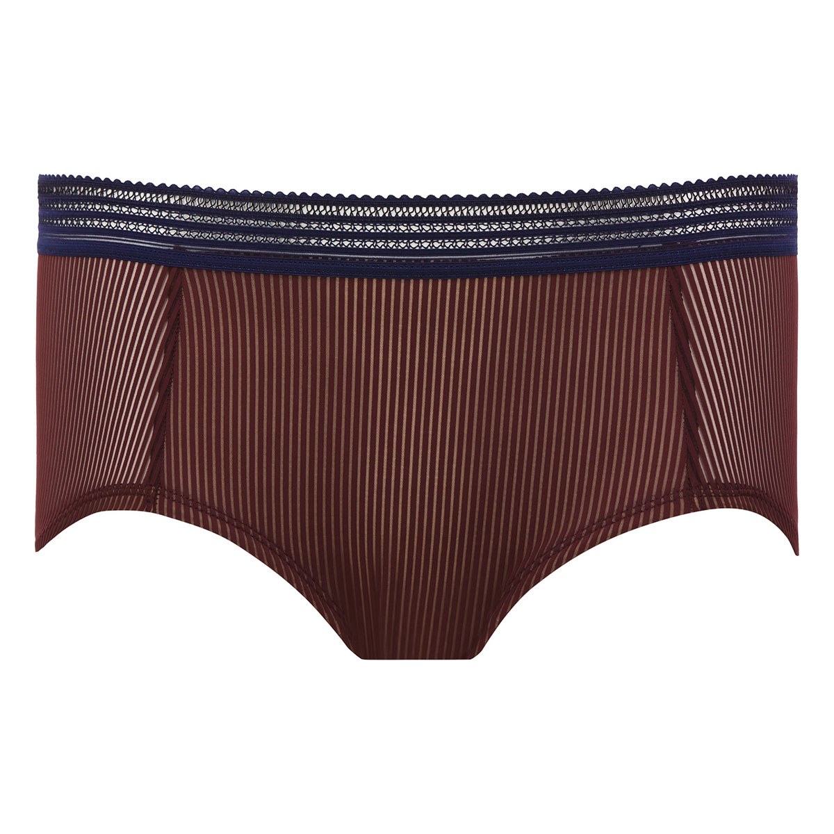 Shorty bordeaux & marine - Smoking Chic-PLAYTEX
