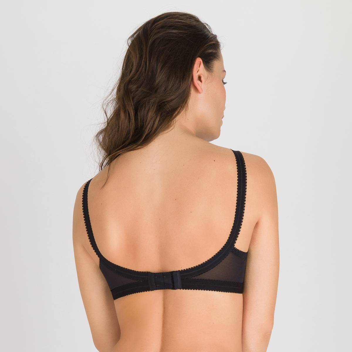 Reggiseno senza ferretto nero Criss Cross 165, , PLAYTEX