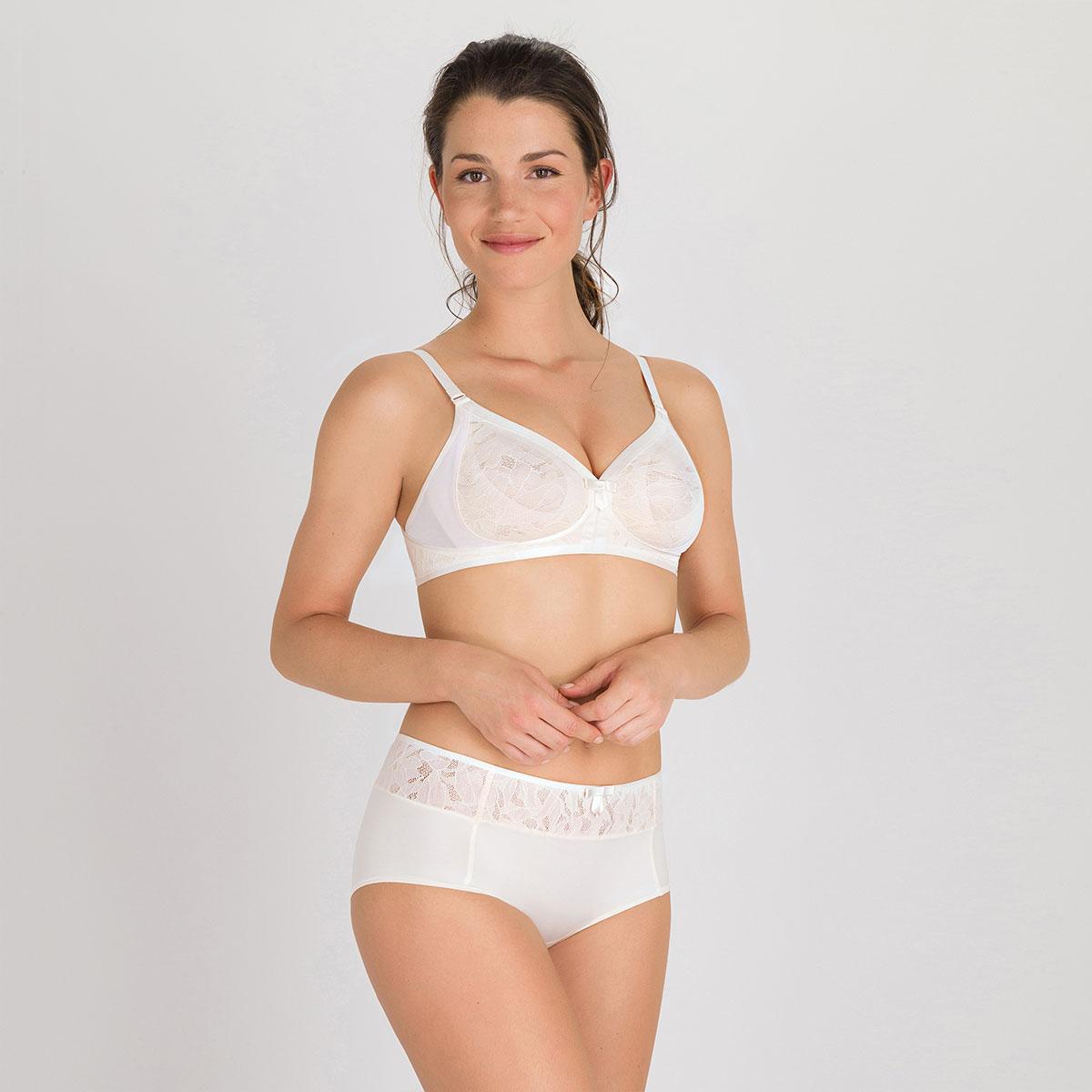Soutien-gorge sans armatures ivoire - Ideal Beauty Lace-PLAYTEX