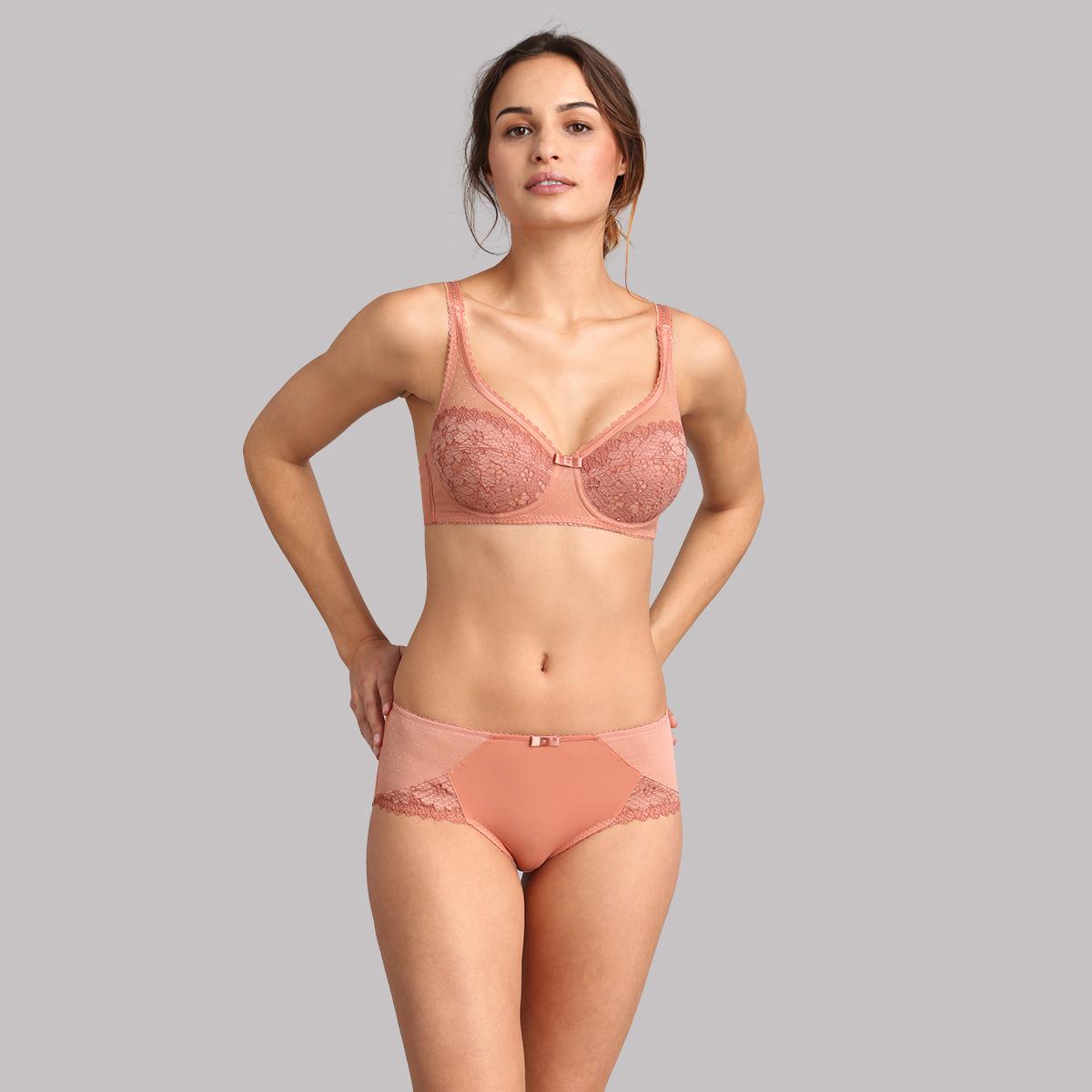Reggiseno modellante terracotta Criss Cross Femminile, , PLAYTEX