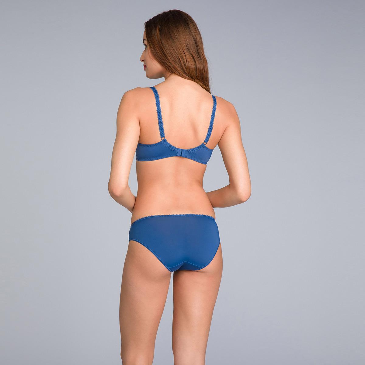 Reggiseno modellante in pizzo blu navy stampato - Flowery Lace - PLAYTEX