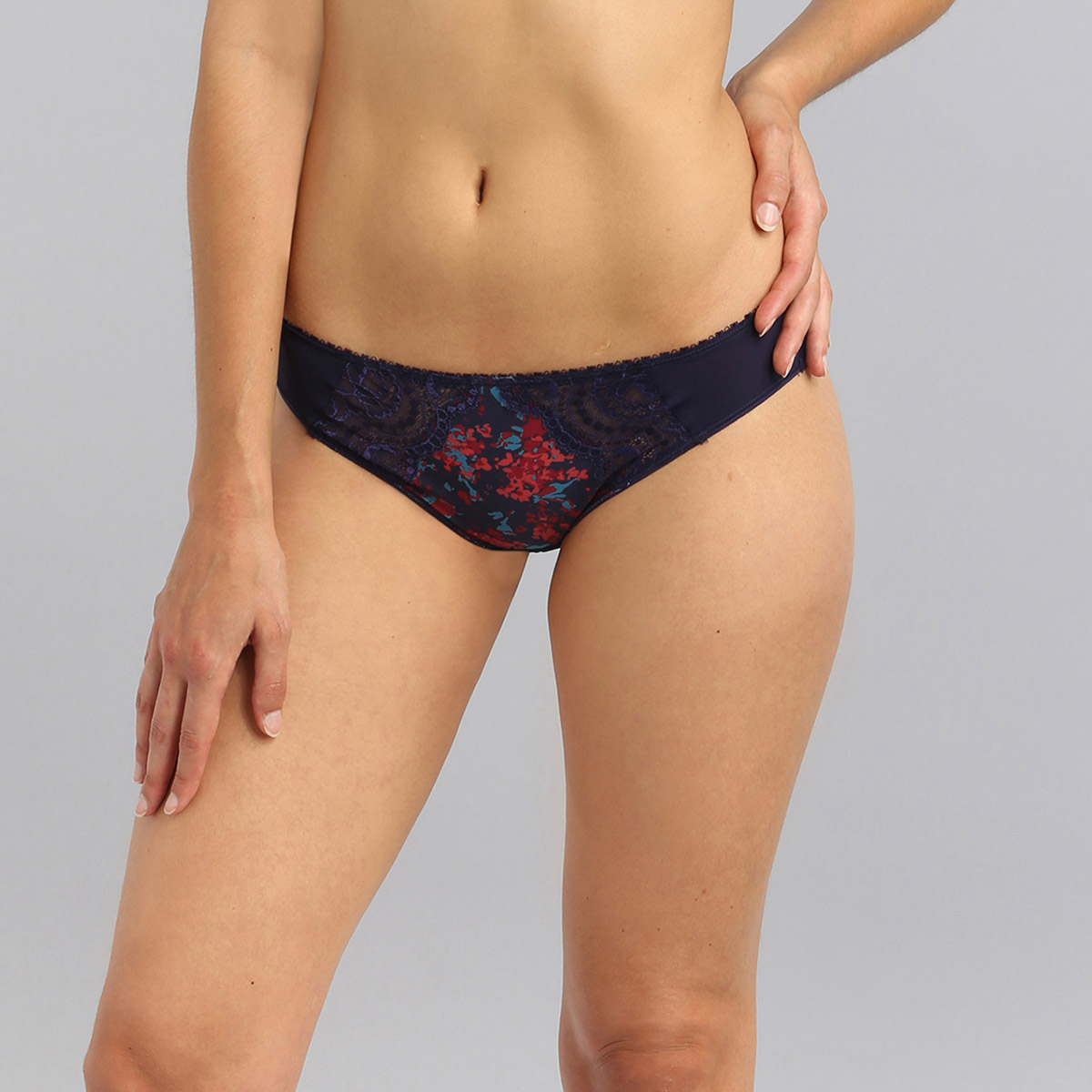 Slip mini stampa liberty Flowery Lace Micro, , PLAYTEX