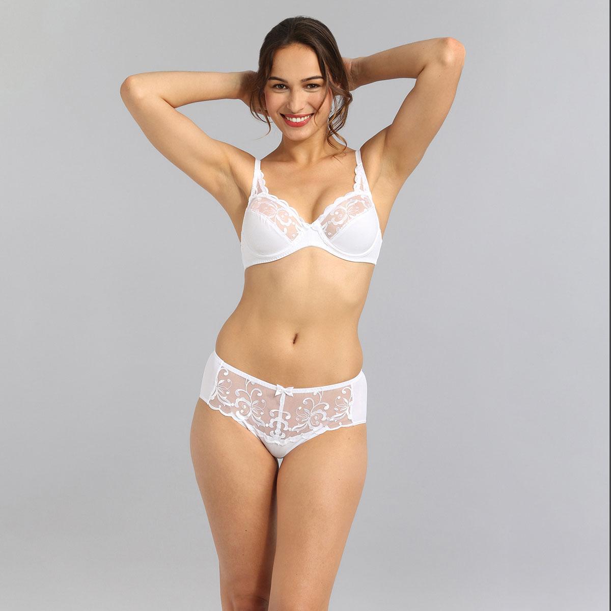 Reggiseno con ferretto bianco Essential Elegance Embroidery, , PLAYTEX