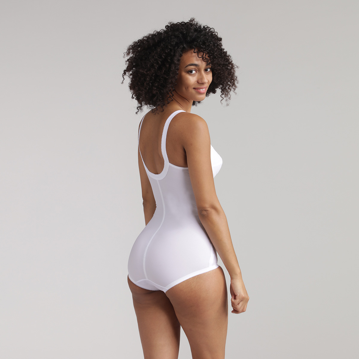 Body modellante bianco - Regina di Quadri, , PLAYTEX