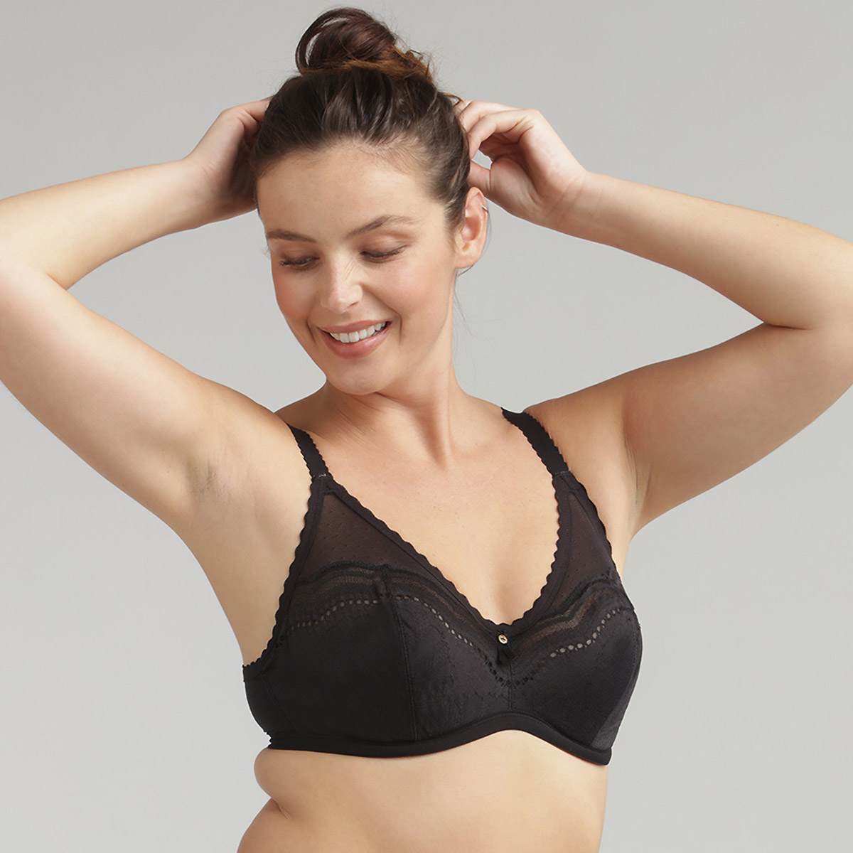 Reggiseno modellante nero Secret Comfort , , PLAYTEX