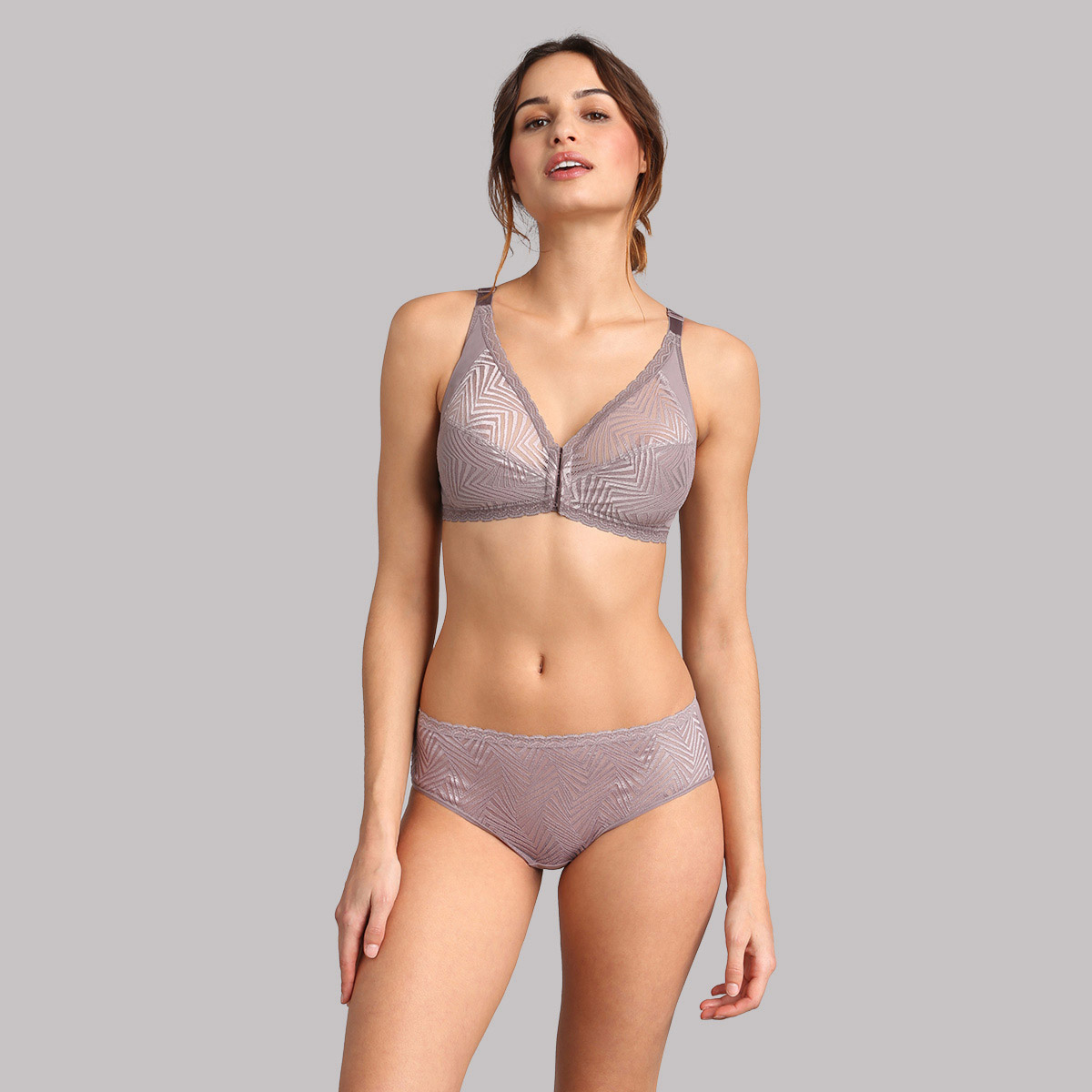 Slip midi in pizzo talpa Ideal Posture, , PLAYTEX