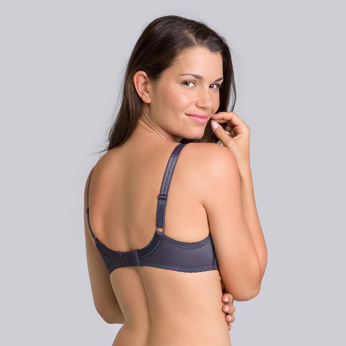 Soutien-gorge avec armatures gris acier Cœur Croisé Féminin-PLAYTEX