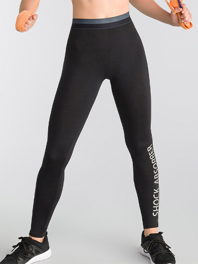 Legging Active Wear nero Shock Absorber