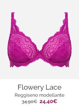 Flowery lace - Reggiseno modellante