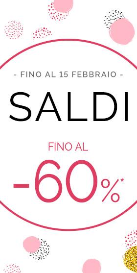 Saldi - Fino al -30%*